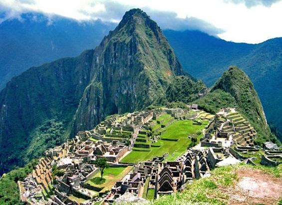 Город Мачу-Пикчу фото