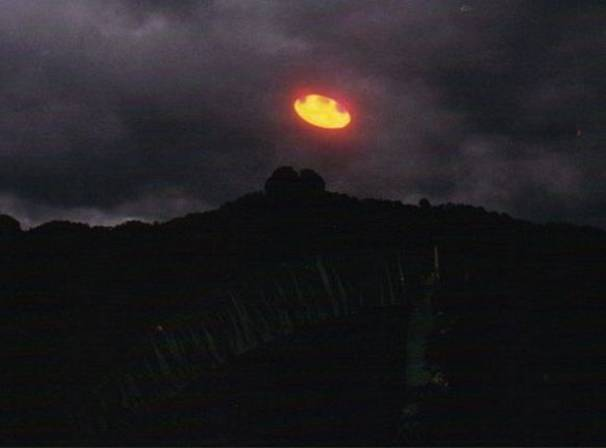 Фото очевидцев НЛО