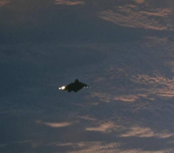 Фотографии НЛО из Космоса