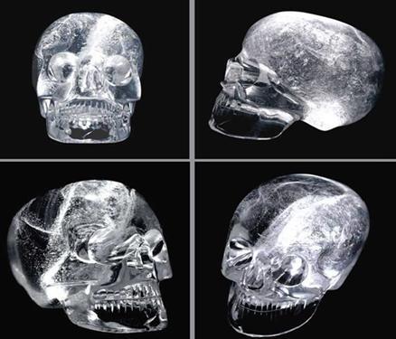 Хрустальные черепа индейцев из племени майя