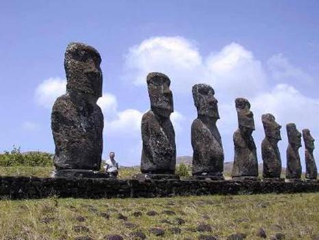 Археологические находки людей гигантов - Атлантов